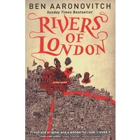Rivers of London by Ben Aaronovitch Paperback Used cover