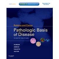 Robbins and Cotran Pathologic Basis of Disease by Vinay Kumar Hardback Used cover