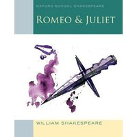 Romeo & Juliet by William Shakespeare Paperback Used cover