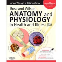 Ross and Wilson Anatomy and Physiology in Health and Illness by Anne Waugh Paperback Used cover