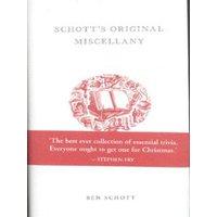 Schotts Original Miscellany by Ben Schott Hardback Used cover