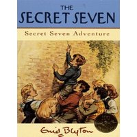 Secret Seven Adventure by Enid Blyton Paperback Used cover