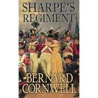 Sharpes Regiment by Bernard Cornwell Paperback Used cover