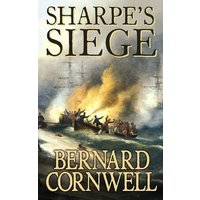 Sharpes Siege by Bernard Cornwell Paperback Used cover