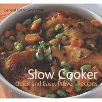 Slow Cooker by Gina Steer Paperback Used cover