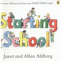 Starting School by Allan Ahlberg Paperback Used cover