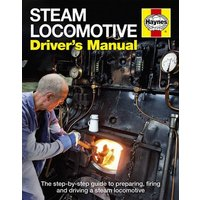 Steam Locomotive Drivers Manual by Andrew Charman Hardback Used cover