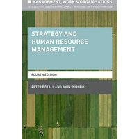 Strategy and Human Resource Management by John Purcell Book Used cover