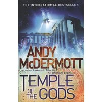 Temple of the Gods by Andy Mcdermott Paperback Used cover