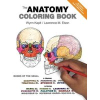 The Anatomy Coloring Book by Wynn Kapit Paperback Used cover