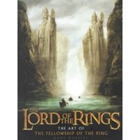 The Art of the Fellowship of the Ring by Gary Russell Hardback Used cover