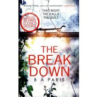 The Breakdown by B. a Paris Paperback Used cover