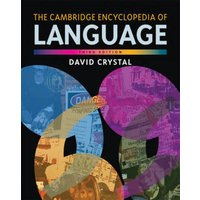 The Cambridge Encyclopedia of Language by David Crystal Paperback Used cover