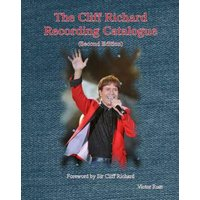 The Cliff Richard Recording Catalogue by Victor Rust Book Used cover