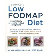 The Complete Low Fodmap Diet by Dr Sue Shepherd Paperback Used cover