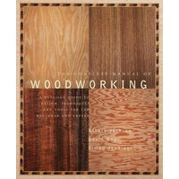 The Complete Manual of Woodworking by Albert Jackson Paperback Used cover