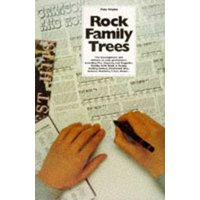 The Complete Rock Family Trees by Pete Frame Paperback Used cover