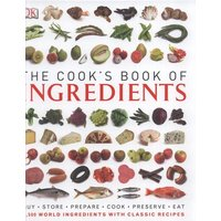 The Cooks Book of Ingredients by Dk Hardback Used cover
