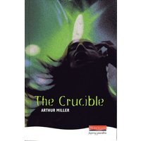 The Crucible by Arthur Miller Hardback Used cover