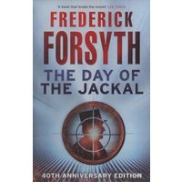 The Day of the Jackal by Frederick Forsyth Paperback Used cover