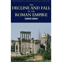 The Decline and Fall of the Roman Empire by Edward Gibbon Paperback Used cover