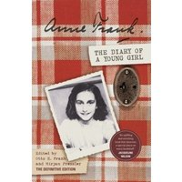 The Diary of a Young Girl by Anne Frank Paperback Used cover