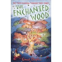 The Enchanted Wood by Enid Blyton Paperback Used cover