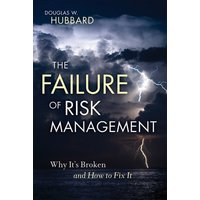 The Failure of Risk Management by Douglas W. Hubbard Hardback Used cover