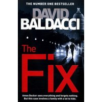 The Fix by David Baldacci Book Used cover