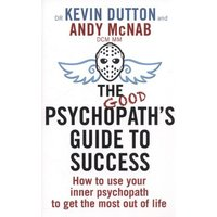 The Good Psychopaths Guide to Success by Andy Mcnab Paperback Used cover