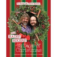 The Hairy Bikers 12 Days of Christmas by Hairy Bikers Hardback Used cover