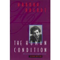 The Human Condition by Hannah Arendt Book Used cover