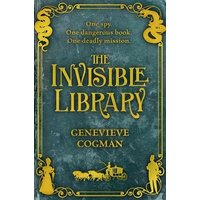 The Invisible Library by Genevieve Cogman Paperback Used cover