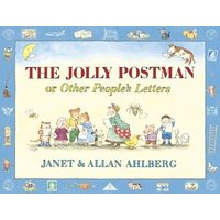 The Jolly Postman or Other Peoples Letters by Allan Ahlberg Hardback Used cover