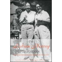 The Lesbian History Sourcebook by Alison Oram Book Used cover