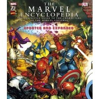 The Marvel Comics Encyclopedia by Alastair Dougall Hardback Used cover