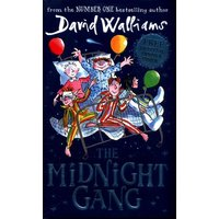 The Midnight Gang by David Walliams Hardback Used cover