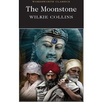 The Moonstone by Wilkie Collins Paperback Used cover