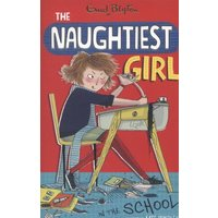 The Naughtiest Girl in the School by Enid Blyton Paperback Used cover