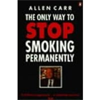 The Only Way to Stop Smoking Permanently by Allen Carr Paperback Used cover