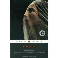 The Oresteia by Aeschylus Paperback Used cover