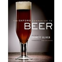 The Oxford Companion to Beer by Garrett Oliver Hardback Used cover