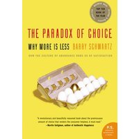 The Paradox of Choice by Barry Schwartz Paperback Used cover
