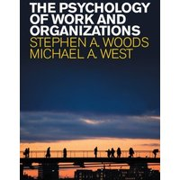 The Psychology of Work and Organizations by Woods Book Used cover