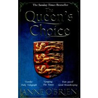 The Queens Choice by Anne O'brien Paperback Used cover