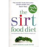 The Sirt Food Diet by Aidan Goggins Paperback Used cover