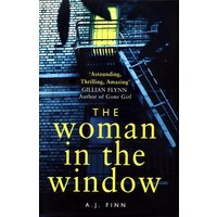 The Woman in the Window by A. J. Finn Hardback Used cover