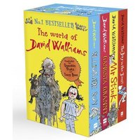 The World of David Walliams by David Walliams Paperback Used cover