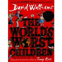 The Worlds Worst Children by David Walliams Hardback Used cover