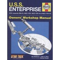 Uss Enterprise by Ben Robinson Hardback Used cover